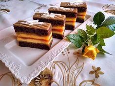 Puncsos mézeskalács szelet görögdinnye és sárgadinnye lekvárral Tiramisu, Panna Cotta, Cake Recipes, Cheesecake, Punk, Treats, Sweet, Ethnic Recipes, Food