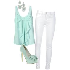 turqouise summer <3 - Polyvore