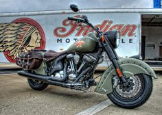 chillypepperhothothot: Cool NEW Indian Motorcycle at the Southeastern Nationals by Douglas Johnson Via Flickr: Taken at the Good Guys car show at the Charlotte Motor Speedway. Created with three shots at 0 and +/-2ev were combined in Photomatix and enhanced with Topaz Adjust.