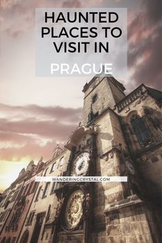 Prague is a city built on a dark history. The most haunted places in Prague. From the headless ghosts of Charles Bridge to the evil history at Faust House. Edinburgh Travel, Prague Travel, Prague Things To Do, Prague Old Town, Haunted America, Ghost Walk, Alberta Travel, Destinations, Charles Bridge