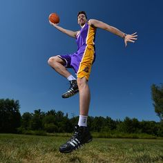 Ryan Kelly of the Los Angeles Lakers poses for a portrait during the 2013 NBA Rookie Photo Shoot on August 6, 2013 at the Madison Square Garden Training Facility in Tarrytown, New York. (Photo by Jesse D. Garrabrant/NBAE via Getty Images)