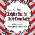 I have used this behavior plan in my 5th grade classroom for over 9 years.  I have found it to be very successful!  This packet includes a parent/s...