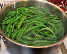 I will never make greens beans another way again – these are too freakin' good! Truth be told, I've never made a Paula Deen recipe, and never wanted to before; but when I saw thi…