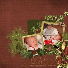 Tannenbaum Embellishments, designed by Jennifer Ziegler, Scrap Girls, LLC digital scrapbooking product designer