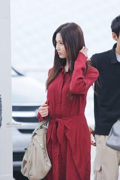 SNSD SeoHyun @ Airport #9Girls1Heart