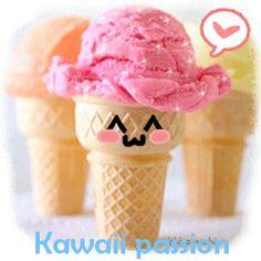 Preciosos gifs Kawaii para enviar gratis online.