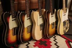 Vintage Telecaster Customs at Rumble Seat Music