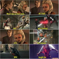 I think somehow Ahsoka applied Anakin's trainings in #StarWarsRebels , n this makes her powerful