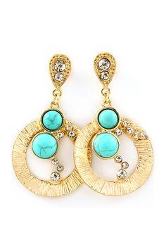Turquoise Nila Earrings