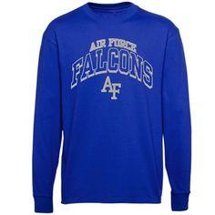 Air Force Falcons Archibald Long Sleeve T-Shirt – Royal Blue