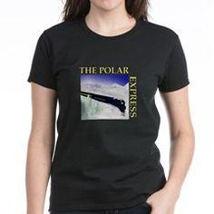 Scenic Polar Express Train Women's Dark T-Shirt