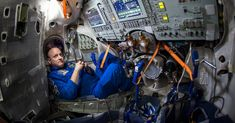NASA Astronaut Scott Kelly is seen inside a Soyuz simulator at the Gagarin Cosmonaut Training Center (GCTC), in Star City, Russia, March Scott Kelly, Mark Kelly, New York Times, Ny Times, Effects Of Isolation, Nasa Images, Nasa Photos, Nasa Astronauts, International Space Station