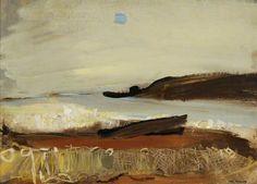 Joan Kathleen Harding Eardley: Salmon Nets on the Shore
