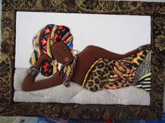 AFRICAN INFLUENCED QUILT................PC  .patchwork sin aguja, africanas