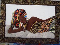 .patchwork sin aguja, africanas