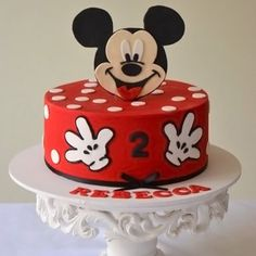 mickey mouse cakes pictures - Mickey Mouse Cakes: Preparing to ...