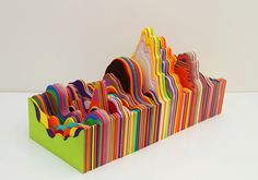 Impractical data series by Ana Bidart, via Behance