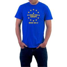 A Song for Europe T-Shirt. Vienna 21015 Eurovision Stars. Generic Logo Company