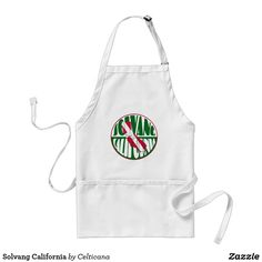 #Solvang California Aprons. This design is available on a range of apparel including t-shirts and #hoodies and other great gift ideas. #Zazzle #DanishAmerican
