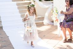 Adorable flower girl at Monterey Plaza Hotel Wedding in Monterey California by TréCreative Film&Photo trecreative.com