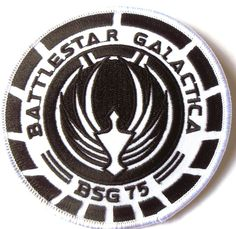 Image result for Embroidered Patch battlestar galactica