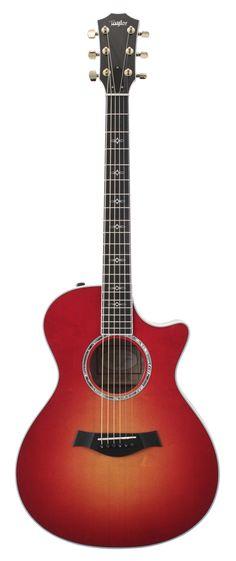 Taylor 612CE Grand Concert Acoustic Electric Cherryburst