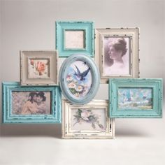 Delilah-Collage-Photo-Frame-Hanging-Shabby-Chic-7-Photos-new-vintage-multi-gift