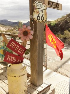 size: Photographic Print: Route Oatman, Arizona, USA by Julian McRoberts : Botanical Old Route 66, Route 66 Road Trip, Historic Route 66, Travel Route, Rv Travel, Road Trips, Route 66 Arizona, Arizona Usa, Nevada