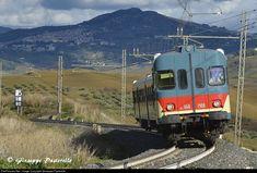 Ferrovie dello Stato (FS) Aln 668.1908 at Roccapalumba - Alia, Italy by Giuseppe Pastorello