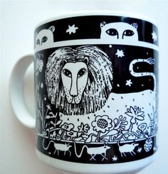 Primitives Lion Mug - Taylor & Ng by Taylor & Ng. $25.15. Dishwasher, microwave safe. 3.25 in. L x 3.25 in. W x 3.5 in. H. Stackable for easy storage. Lion in a Black design on a White 11 oz Ceramic mug. Primitive Mugs collection. Lion in a Black design on a White 11 oz Ceramic mugDishwasher, microwave safePrimitive Mugs collectionStackable for easy storage3.25 in. L x 3.25 in. W x 3.5 in. H
