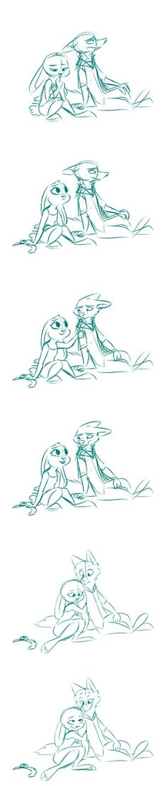 Judy:always there for you Nick. Nick:thx carrots.