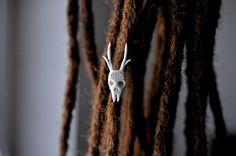 - korálek do dreadů / Zboží prodejce Bíds. Antlers, Plant Hanger, My Design, Dreadlocks, Beads, Hair Styles, Decor, Fimo, Horns