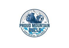 Proud Montain Bulls logo - Bavaria bulldog