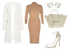 """""""Light Shades"""" by amuramasri on Polyvore featuring River Island, Thierry Mugler, Stuart Weitzman, Christian Dior and CÉLINE"""