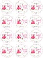 owl birthday party theme free printables...lots of fantastic free printables here