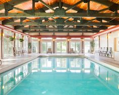 Bluegreen Vacations South Mountain Resort, an Ascend Resort in Lincoln, NH, has a sparkling indoor pool for those passionate about swimming.