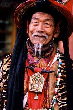 China | 'Dongba'. Lijiang, Yunnan Province | © Franck Guiziou/Hemis/Corbis Images