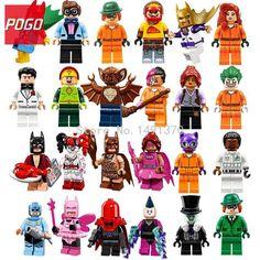 POGO Lastest Batman DC Superhero Figure Single Sale Zodiac Master Mr Freeze Man Bat Building Blocks Set Model Toys Hobbies