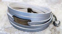 Leather Bar Bracelet Wrap Bracelet Wrap Leather Bracelet