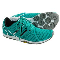 New Balance WR00 Minimus Running Shoes (For Women) in Teal/Black/White (Size 10)