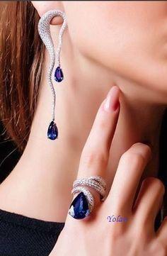 Ear Jewelry, High Jewelry, Jewelry Art, Jewelry Accessories, Women Jewelry, Stylish Jewelry, Luxury Jewelry, Fashion Jewelry, Unique Jewelry
