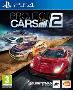 """Project CARS 2 - PlayStation Project CARS 2 is the next evolution in the award-winning racing series, featuring the most iconic cars under the most thrilling of conditions to deliver the """"Ultimate Driver Journey"""" experience and adrenaline rush. Cars 2 Games, Xbox One Games, Ps4 Games, Games Consoles, Playstation Games, Games Box, E Sports, Sports Games, Honda"""