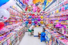 Yiwu is a city in the Zhejiang province of China, South of Shanghai. It hosts China Commodities City, famous for being the largest small commodity wholesale market in the world.