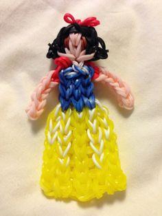 Rainbow Loom Snow White (TutorialsByA) http://www.youtube.com/watch?v=cnunMseT1Kc&feature=share&list=PLI7aiku0BlvUS3_cQdfVZlLejoqk5R-1d