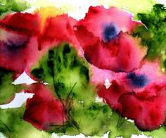 Flower Painting - Blooming by Anne Duke