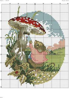 Cross Stitch Fairy, Xmas Cross Stitch, Just Cross Stitch, Cross Stitch Needles, Beaded Cross Stitch, Cross Stitch Animals, Cross Stitch Flowers, Cross Stitch Charts, Cross Stitch Designs