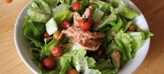Vegetable Tuna Salad: Provides protein, vitamins & fiber to replenish and build the muscles. Tuna Salad, Cobb Salad, B6 B12, Perfect Body, Vitamins, Protein, Dishes, Vegetables, Healthy