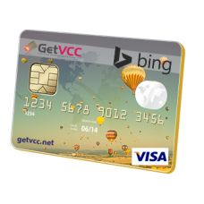 Anonymous (Use Any Name) Bing Ads Verification Virtual Credit Card (not reloadable) With this VCC you can verify your accounts without leaking your information. We will give you the complete 16 digits virtual credit card number , 3 Digits Security Number, and the Expiry Date. Our cards work no matter what your name is and no matter where you live.