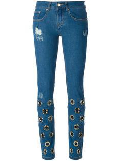 Filles A Papa Calça Jeans Cenoura Slim Fit - Smets - Farfetch.com