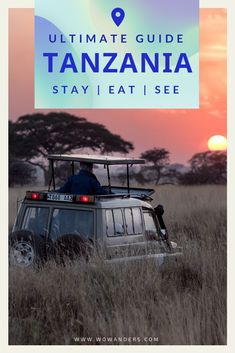 A safari adventure guide to Tanzania including things to do, where to stay, restaurant recommendations, and more. Africa's bucket list destination, Tanzania is home to safaris in the Serengeti, Africa's highest mountain Kilimanjaro, and Tarangire National Park in Arusha. Big 5 travel in Africa. | Wowanders #TravelApp #TravelDiary #TravelTips #Travel #Tanzania #Africa #Safari #Big5